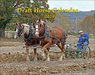 2021 Mischka Draft Horse Calendar