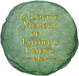 Spontiques In Loving Memory Stepping Stone