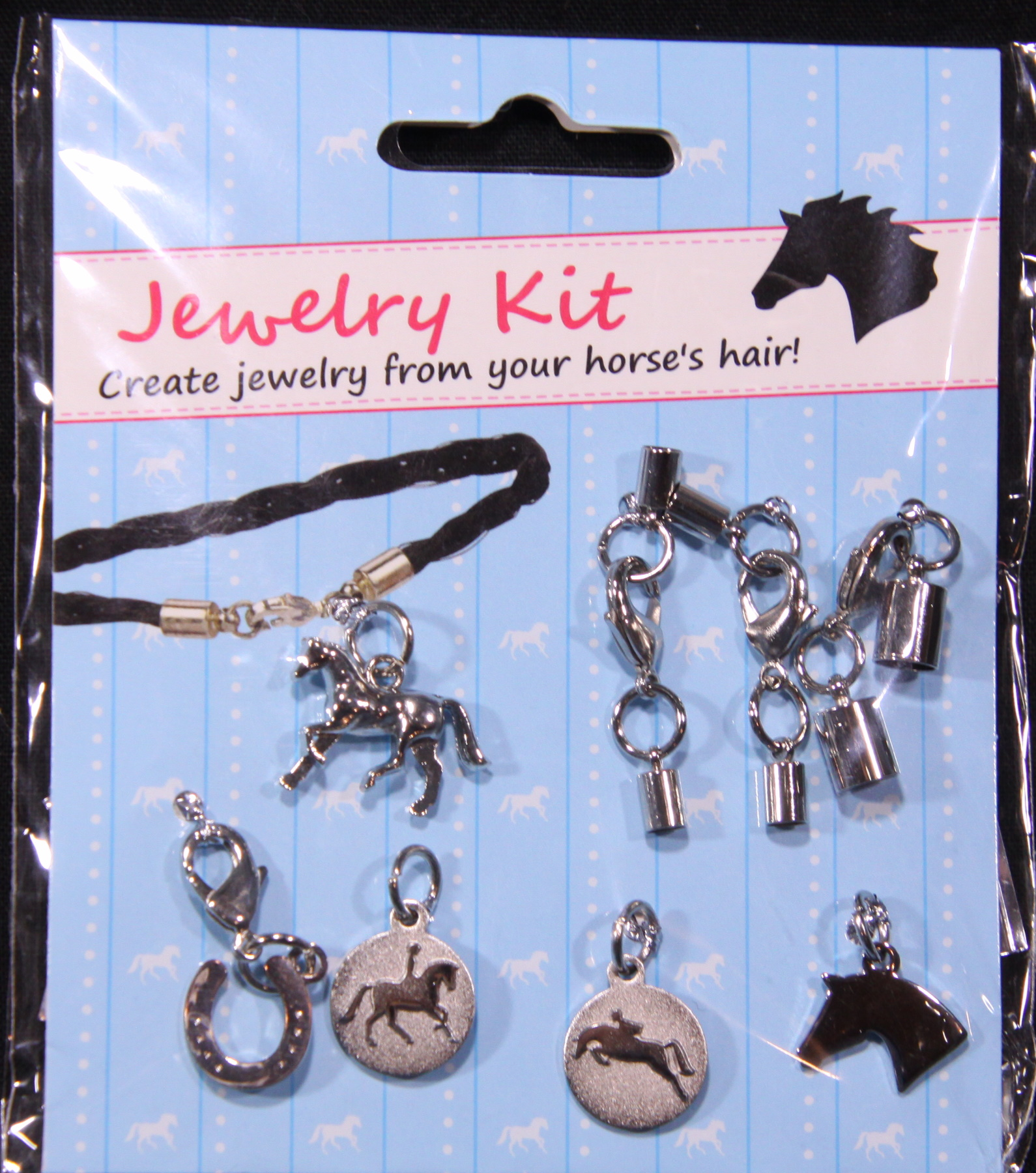 Horse Hair Jewelry Kit - Closures and Horse Charms