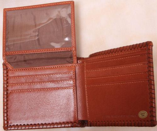 Leather bi-fold wallet - Inside view 2