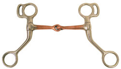Miniature Horse Bit with Copper Mouth