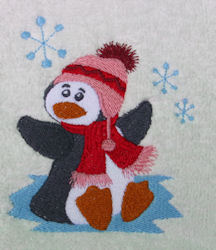 Penguin on Ice Design