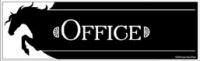 Barn Office Sign