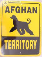 Afghan Territory Sign