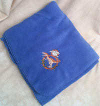 Embroidered Throws