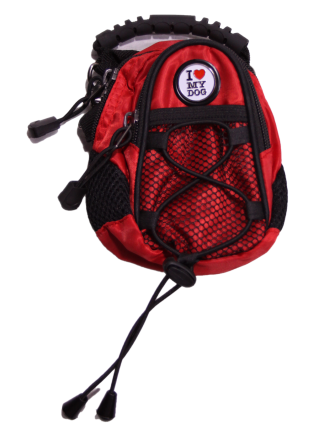 I Love My Dog Red Mini Day Pack - Dog Design