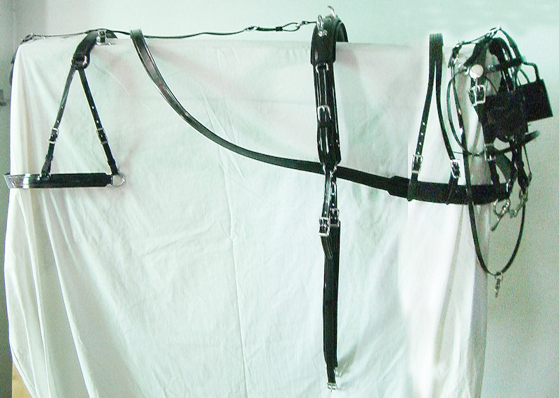 Breast style driving harness