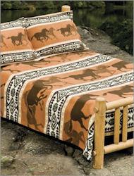 Horse Fever Blanket