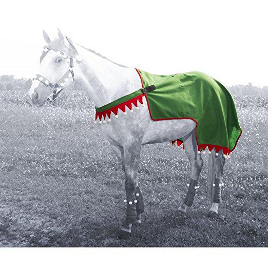 Holiday Elf Quarter Sheet Horse