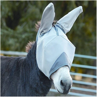 Crusader Fly Mask - Standard with Ears - Mini Donkey