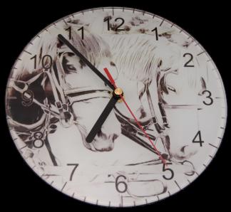 Percheron Clock