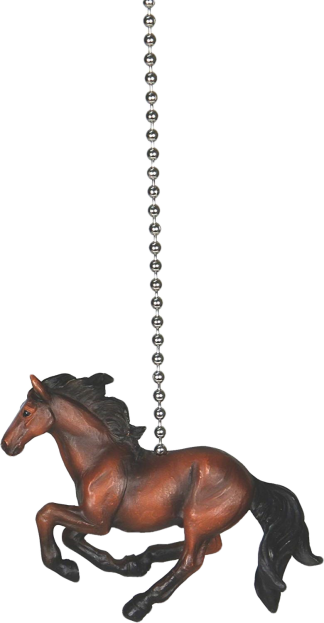 Rivers Edge Products, Galloping Bay Horse Fan Pull