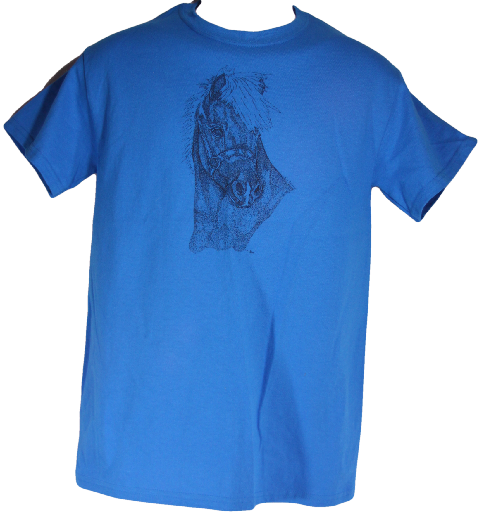 Miniature Horse Head in Halter T-Shirt