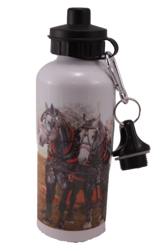 Percheron Team Aluminum Water Bottle