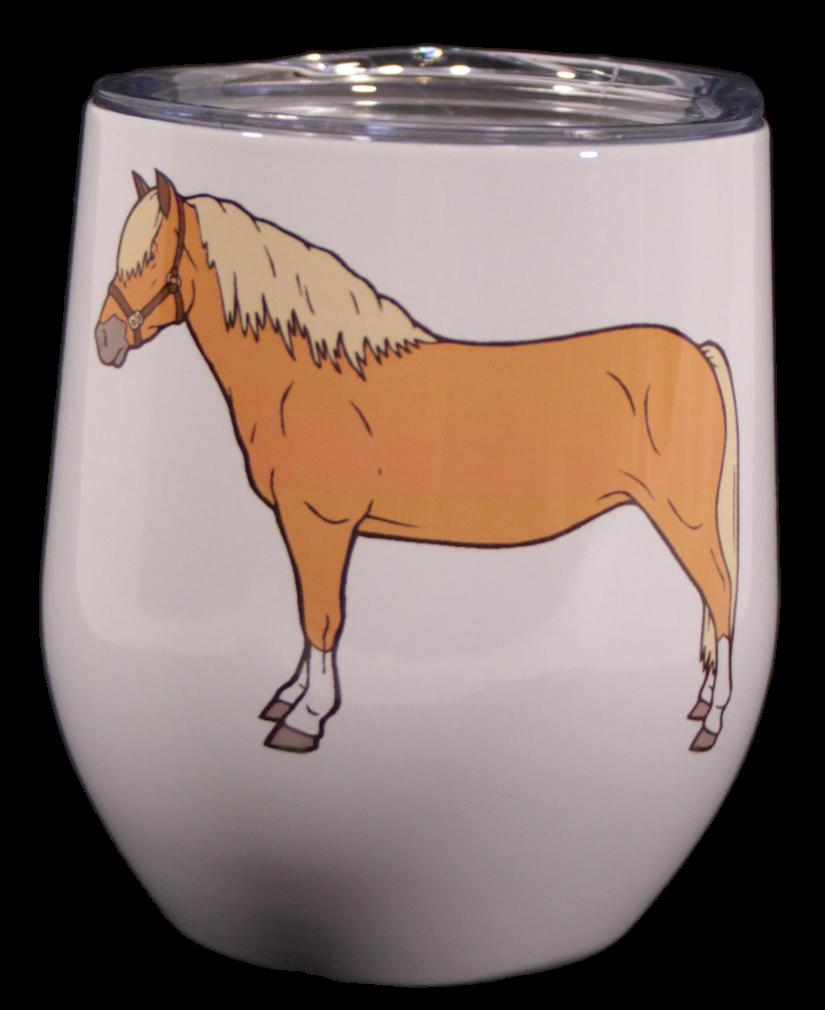 Haflinger Stemless Wine Cup