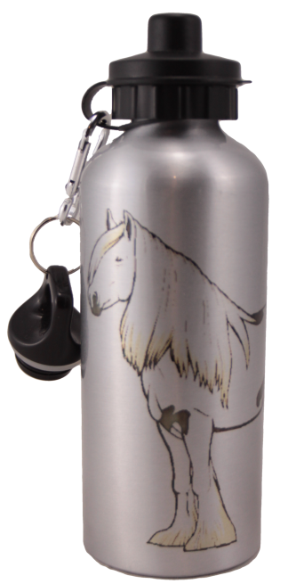 Gypsy Vanner Aluminum Water Bottle