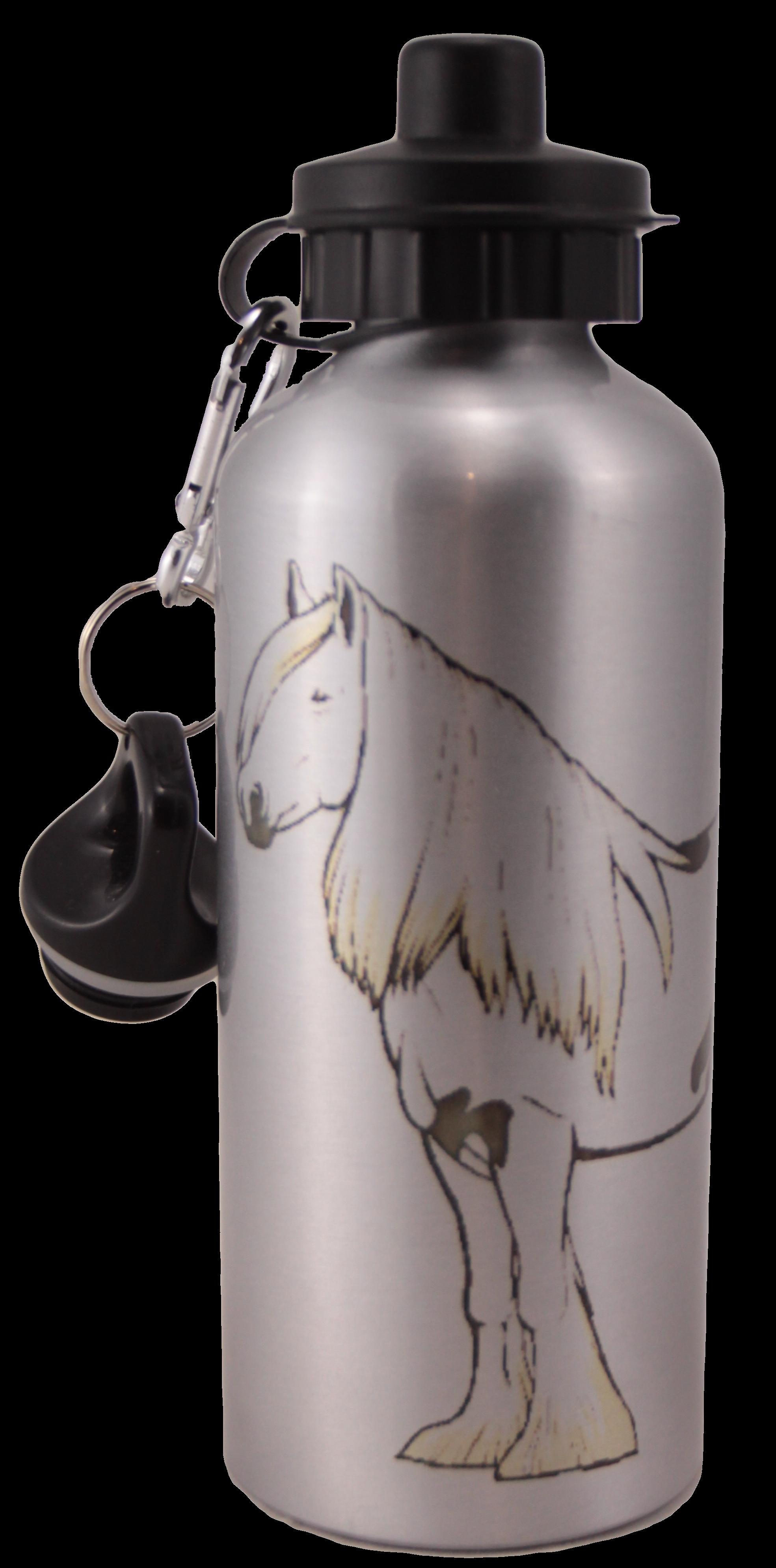 Gypsy Vanner Aluminum Water Bottle