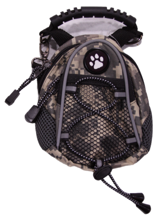 Dog Paw Camo Mini Day Pack - Dog Design