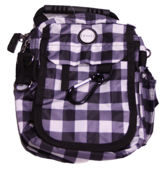Woof Dog Plaid Urban Day Pack - Dog Design